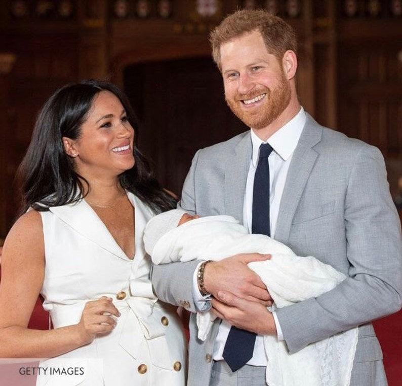 Meghan Markle Replica Earrings Rhinestone Wedding Earrings Royal Baby Earrings Natalie Marie Sun Stud Replica
