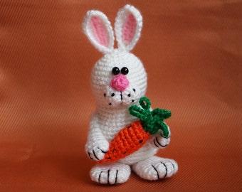 Easter gift Crochet bunny Housewarming gift Easter decoration Crochet rabbit Easter bunny Gift for kids Baby gift Stuffed bunny toy decor