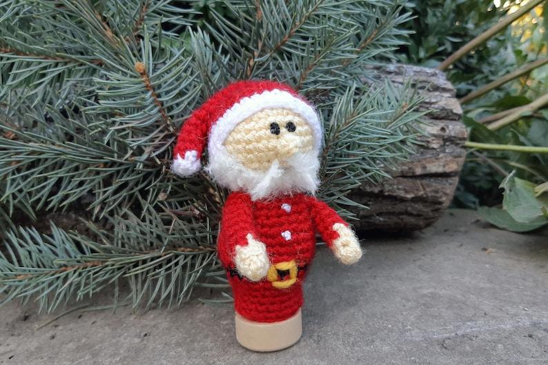Finger Toy Santa Claus