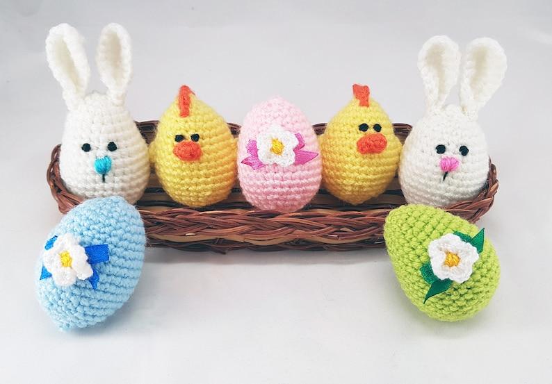 Geschenke Ostern Ostereier Häkeln Eier Ostereier Geschenke Etsy
