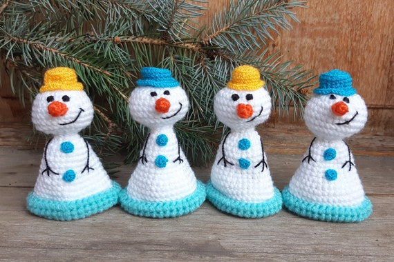 cozy home decor Snowman bottle topper Christmas wine decor