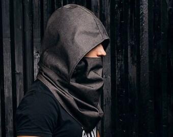 Cowl scarf hood | Etsy