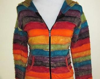 RAINBOW ~ Pixie Hooded Jacket!