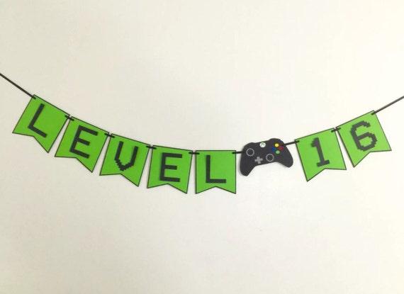 Xbox Birthday Banner Etsy