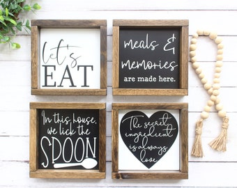 Kitchen Wall Decor Etsy
