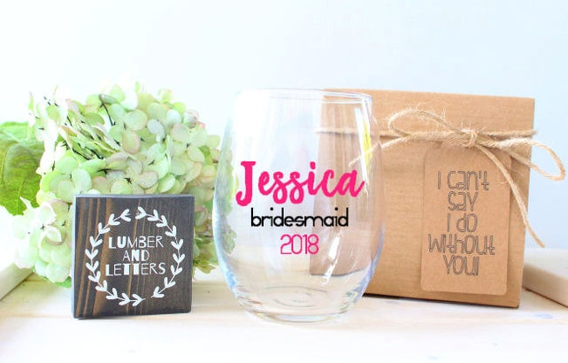 Bridesmaid Proposal Maid Of Honor Gift Will You Be My Maid Of
