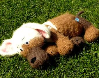 Häkelanleitung Hund Streuner, für Anfänger geeignet, Haustier und Kuscheltier
