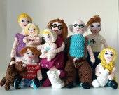 Dolls house people, little dolls, 4 inch