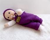 "Doll ""Alani"" crochet pattern, 35 cm, crochet doll, doll beginner, doll toddler, baby doll"