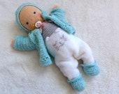 "Baby doll ""Georgia"", 15 inch doll, crochet pattern"