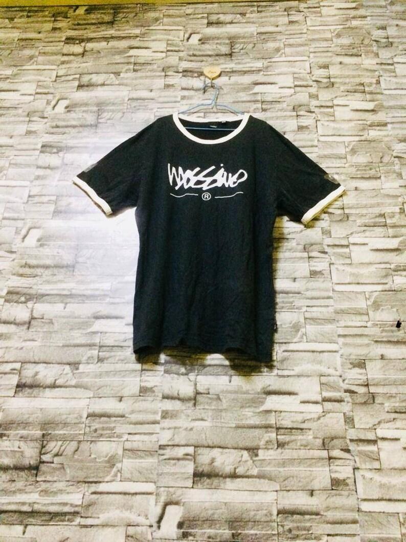 831c21fd344 Vintage mossimo shirt spellout big logo streetwear bape