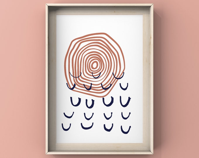 Bohemian Printable Wall Art, Instant Download