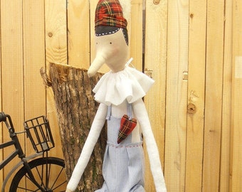 Pinocchio, Handmade Pinocchio, Handmade Doll, Pinocchio Doll, Pinocchio Handmade Doll, Home Decor, Nursery Decoration, Baby Shower, Party