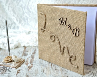 Wedding Guest Book, Personalized Wedding, Wedding Wish Book, Wedding  Book, Personalized Wedding Book, Unique Wish Book, Wedding Decoration