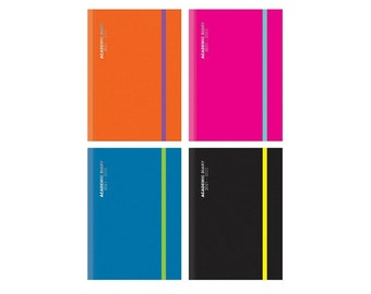 A4 Size Page-a-Day 2021-22 Academic Diary by Imprint Press Red
