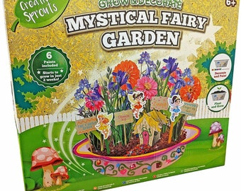 Large Childrens Grow & Decorate Your Own Fairy Garden Pot R03-0249