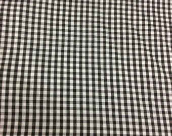 "DARK NAVY EIGHTH INCH GINGHAM CHECK  45/"" 100/% COTTON GERENAL SEWING"