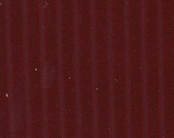 BTY Vintage 1981 Ford / Mercury / Granada / Marquis / Cougar Red Velour Auto Upholstery w/ Channels