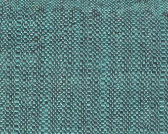 BTY mid century tweed auto upholstery tweed black metallic thread