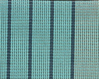 2 Yards 1960 Chevrolet Green Panelled Fabric