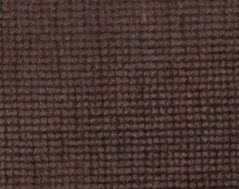 BTY vintage auto upholstery plush velour wine color subtle pattern