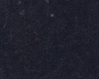 BTY Vintage Dark Navy Blue Plush Velour Auto Upholstery