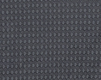 BTY vintage Ford dark grey upholstery with diamonds