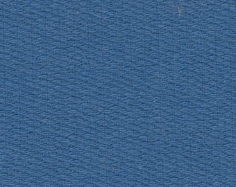 BTY Vintage Blue Woven Cloth Auto Upholstery