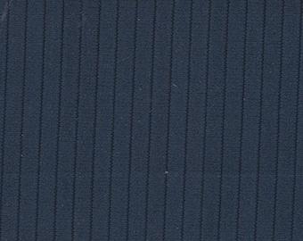 BTY Vintage Dark Blue Nylon Auto Upholstery w/ Ridges