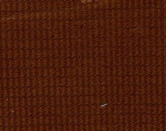 BTY 1975 Chevrolet Brown Ridges Knit Nylon Auto Upholstery
