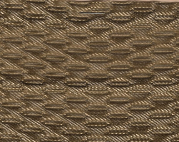 Featured listing image: BTY mid century 1967 Chevrolet auto upholstery 3 D texture khaki