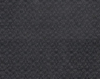 BTY vintage auto upholstery thick black nylon