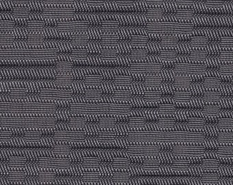 1 1/2 Yards Vintage 1960 Chevrolet Grey Abstract Auto Upholstery