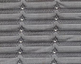 2+ Yards Grey Vintage Plastic Auto Vinyl Headliner w/ Raised Blocks