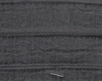BTY mid century 1963 Buick black padded channel upholstery