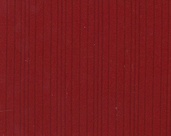 BTY Vintage Red Nylon Auto Upholstery w/ Channels