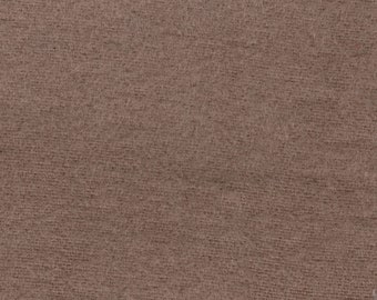 BTY Taupe Cotton Napping Headliner Suede Cloth Auto Upholstery