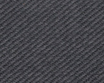 BTY vintage 1980s black and grey diagonal stripe auto upholstery