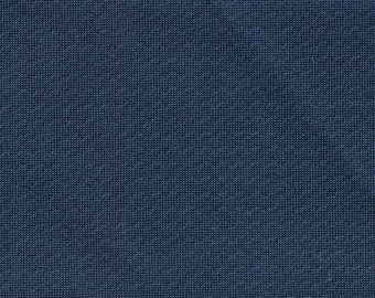 1 1/2 Yards Vintage 1971 Cadillac DeVille Blue Nylon Auto Upholstery w/ Perforations