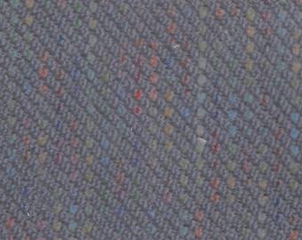 BTY vintage 1980s plush velour diagonal stripe upholstery
