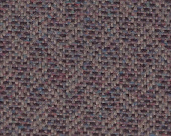 BTY Vintage Chevrolet Brown Multicolored Chevron Cloth Auto Upholstery