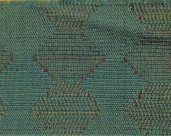 BTY mid century  auto upholstery interesting woven design