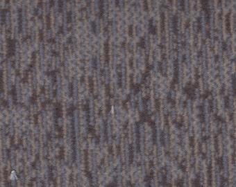 1 1/3 Yards Vintage 1997 Chevrolet Brown Blue Plush Velour Auto Upholstery