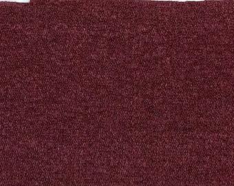 BTY vintage 1973 Pontiac Bravo Cloth auto upholstery deep red
