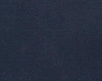 BTY vintage 1985 Chevrolet dark denim blue flannel finish upholstery