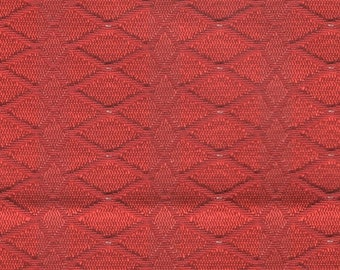 BTY mid century 1964 Plymouth Belvedere upholstery abstract red design