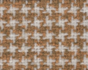 BTY vintage 1979 Buick Century mustard and white houndstooth upholstery
