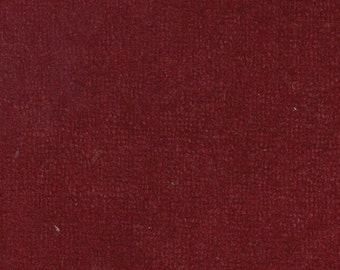 BTY Vintage 1975-81 Ford / Mercury / Lincoln / Grand Marquis / Continental / Mark IV / Town Car Red Plush Velour Auto Upholstery