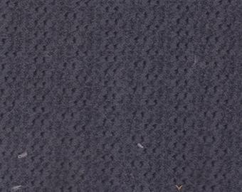 2+ Yards Vintage 1996 Nissan Dark Grey Plush Velour Auto Upholstery w/ Dots