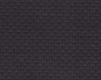 BTY Vintage Black Nylon Auto Upholstery w/ Checkerboard Pattern